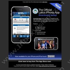 Company: Wigan Athletic FC Subject: Official iPhone App Now Available INBOXVISION is a global database and email gallery of 1.5 million B2C and B2B promotional emails and newsletter templates, providing email design ideas and email marketing intelligence. http://www.inboxvision.c... http://#EmailMarketing http://#DigitalMarketing http://#EmailDesign http://#EmailTemplate http://#InboxVision