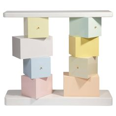 """""""Cubica"""" console by Ettore Sottsass 