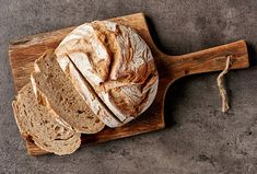 Bramborový chléb - Recepty.cz - On-line kuchařka Sin Gluten, Ikea Kitchen Cart, Whole Grain Wheat, No Rise Bread, Pan Integral, Gluten Intolerance, Bread Board, Sourdough Bread, How To Make Bread
