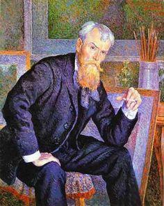 Maximilien Luce, Portrait de Henri Edmond Cross, 1898