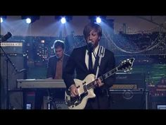 """The Late Show with David Letterman (5/25/2010) - The Black Keys singing """"Tighten Up"""" from their new album """"Brothers""""    http://www.cbs.com/late_night/late_show/    http://www.theblackkeys.com/"""