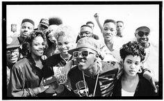 80's Hip Hop stars