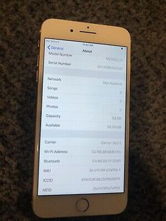 Gold Models, Iphone 8 Plus, Galaxy Note, Apple Iphone, Smartphone, Samsung Galaxy, Ebay