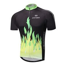 cfdbf3147 Boys  Cycling Jackets - Xinzechen Mens Bicycle Sports Breathable Polyester  Short Sleeve Cycling Jersey