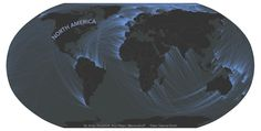 Plotting the accurate view across the ocean.  Beautiful.