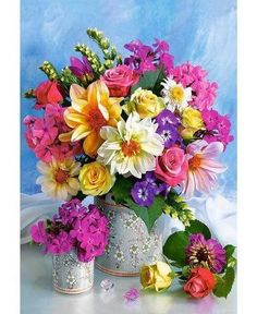 Send birthday flowers from a real Roanoke, VA local florist. George's Flowers has a large selection of gorgeous floral arrangements and bouquets. We offer flower deliveries for birthday flowers. Bright Flowers, Exotic Flowers, My Flower, Pretty Flowers, Flower Art, Flowers Gif, Elegant Flowers, Flower Images, Amazing Flowers