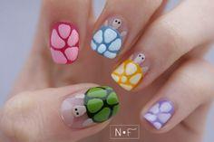 Nerdy & Fleurty: Disco turtles