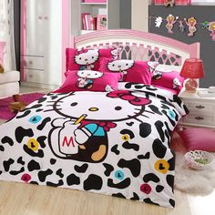 Are you a Hello Kitty fan? If so, you'll love these adorable Hello Kitty bedroom decoration! 25 cute bedroom designs for Hello Kitty fanatics.