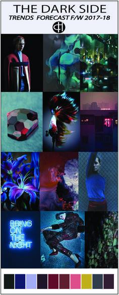 Concept board. trends&colour f/w 2017-2018 www.theculthunter.com