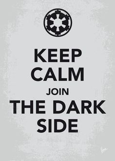 The keep calm and carry on poster meets Star Wars. The Galactic Empire version as well as the Rebel Alliance. --- WANNA BUY THIS PRINT? My Keep Calm Star Wars - Galactic Empire - poster Star Trek, Star Wars Sith, Star Wars Quotes, Star Wars Humor, Darth Maul, Star Wars Wallpaper, Nerdy Wallpaper, Keep Calm Wallpaper, Iphone Wallpaper