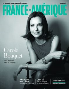 68b23c0b4b7a France-Amérique  55   Carole Bouquet. CaroleLooks GreatPersonal Style