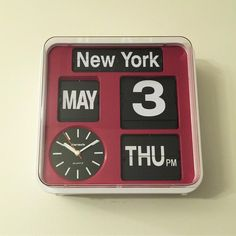FARTECH Auto Calendar Flip Clock AD-650City