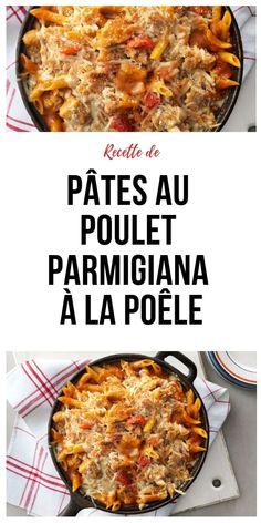 Rezept: Parmigiana Chicken Pasta mit Herd - # at # Pasta - - Chicken Parmigiana, Italian Dinner Recipes, Cooking App, Indian Food Recipes, Ethnic Recipes, Gourmet Recipes, Chicken Pasta Recipes, Recipes From Heaven, Vegan Breakfast Recipes