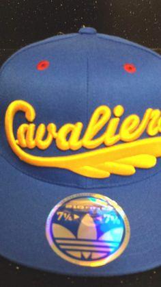 Cleveland Cavaliers NBA Adidas 210 Flex Fitted Flat Brim Hat New