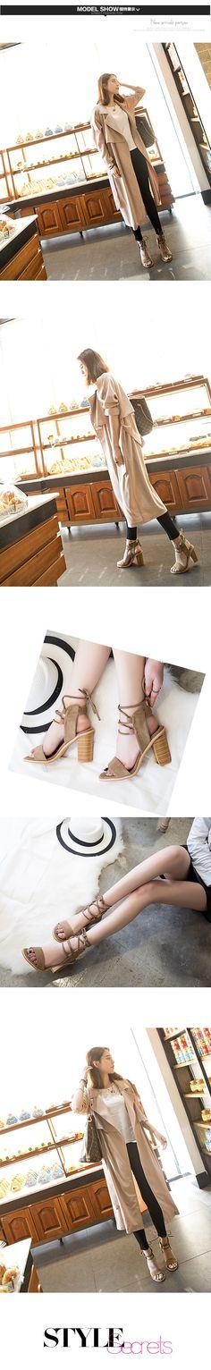 2016 Сексуальные Женщины Насосы Открытым Носком зашнуровать Каблуки Сандалии Женщина сандалии Толщиной с Женской Обуви женщин Высокие каблуки S472 купить на AliExpress