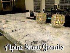 Always dreamed of beautiful, shiny granite countertops but can't exactly fit them into your budget?! Here's how I got the look for less!