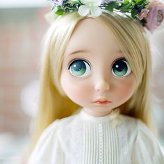#babydoll#disney#disneyanimatordoll#doll#ドール#Tangled#rapunzel#アニメータードール #베이비돌