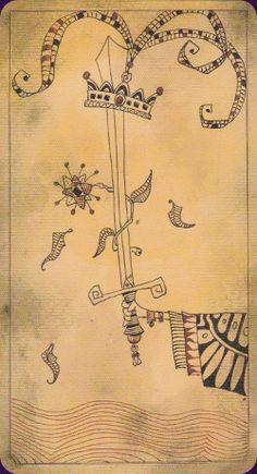 Lost Code of Tarot- Ace of Swords