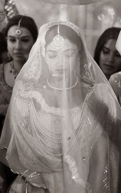 Wedding gown from India Desi Wedding, Wedding Attire, Wedding Gowns, Punjabi Wedding, Wedding Veil, Hyderabad, South Asian Wedding, We Are The World, Indian Bridal