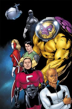 Legion of super heroes xxx same