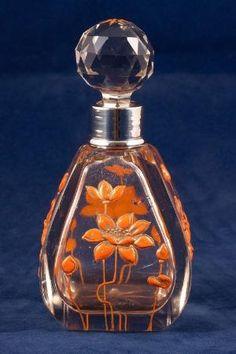 Antique cut-glass scent bottle by VanityPlume