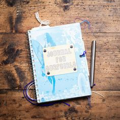 Somewhere for your thoughts and memories, a beautiful SurfGirl Journal at www.surfgirlbeachboutique.com