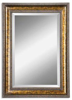 $151.80 South Shore Decorating: Uttermost 14157 B Sinatra Vanity Traditional Rectangular Mirror UM-14157-B