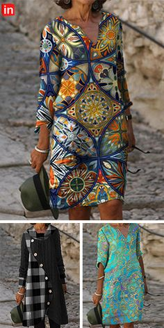 Mode Outfits, Chic Outfits, Look Fashion, Womens Fashion, Couture, African Fashion Dresses, Knee Length Dresses, Beautiful Dresses, Clothes For Women