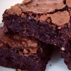 Extreme Chocolate Brownies Recipe from Grandmother's Kitchen