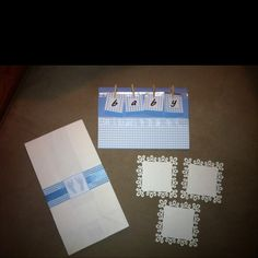 Jen's baby shower.... Invitations, candy bags for candy buffet, labels for candy jars