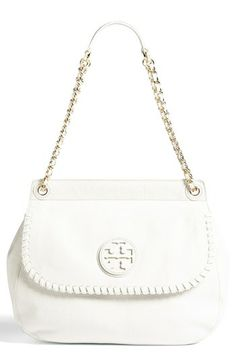 Tory Burch 'Marion' Leather Shoulder Bag available at #Nordstrom