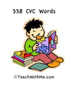338 CVC Words