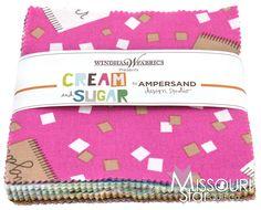 Cream and Sugar Charm Pack - Ampersand Design Studio - Windham Fabrics
