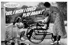 THE MISERY OF WHEELCHAIRS ACCORDING TO GOODYEAR
