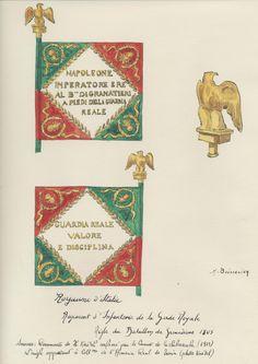 Italy; Royal Guard, Grenadier Battalion, Aigle 1805