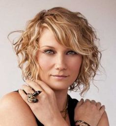 12. Short Curly Hairstyle