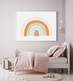 Chętnie udostępniam ten artykuł z mojego sklepu #etsy: Rainbow aby print, Rainbow nursery wall art, nursery boho art, rainbow wall art, nursery decor, Baby Gift, gift baby girl, girl room print Nursery Wall Decor, Black Dots, Bed Pillows, Pillow Cases, Tapestry, Etsy Shop, Home Decor, Pillows, Hanging Tapestry