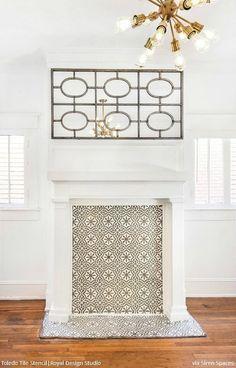 656 best wall furniture stencils images in 2019 royal design rh pinterest com