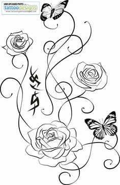 Rose Tattoo By Ariesmzj Re
