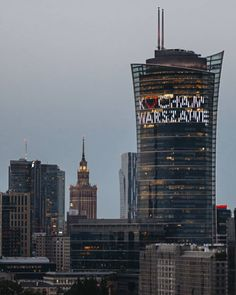 Warsaw City, Warsaw Poland, Polish Government, Empire State Building, Wallpaper Backgrounds, Travelling, Europe, Dreams, Landscape