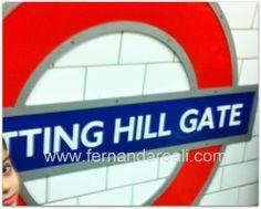 Um Lugar Chamado Notting Hill - Passeando em Londres - London