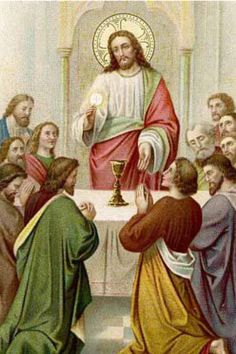 Image result for JESUS INSTITUTED THE EUCHARIST
