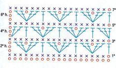 Patrón #1104: Punto Tupido a Crochet ~ CTejidas [Crochet y Dos Agujas]