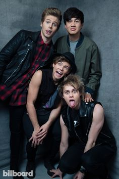 5 Seconds of Summer photographed by Austin Hargrave on May 18th at The MGM Grand Garden Arena in Las Vegas.
