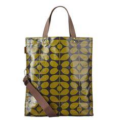 Orla Kiely Sixties Stem Print Book Bag