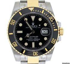 Rolex Submariner Date steel/gold $10,880 #rolex #watch #watches #chronograph…