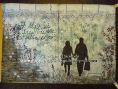 journal page by Caroline Duncan ~ stampingsandinklings.blogspot.com DLP2015