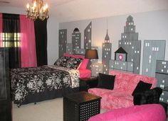 girl bedroom accessories | Girls Bedroom Black-Girls-Bedroom-Decor – Living Room Design