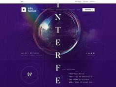 KIKK Festival Best Templates, Web Design, Banner, Purple, Digital, Color, Banner Stands, Design Web, Colour