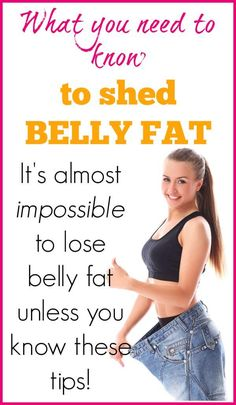 Shedding belly fat is close to impossible if you don't understand this one thing. Learn how to lose belly fat for good with no gimmicks, shakes, or pills.